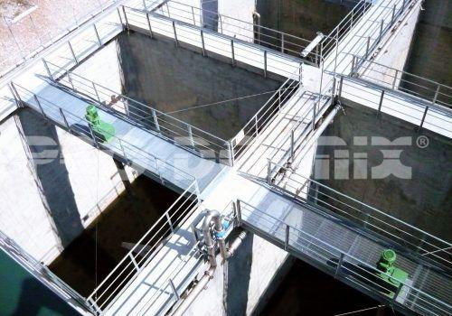 nitrification denitrification plant 5 bewerkt
